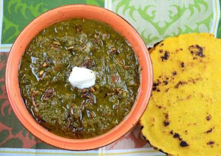 sarso ka saag recipe a punjabi delight recipe