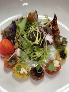 tomato lettuce salad
