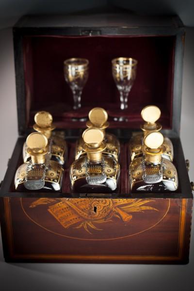 Hill-Stead Boxes Liquor Case Open