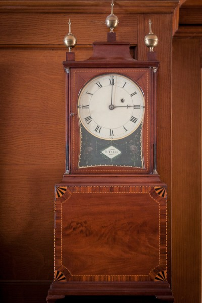 Hill-Stead Clocks Elnathan Taber Dining Room