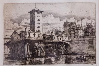 Hill-Stead Prints La Pompe Notre-Dame