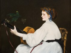 The Guitar Player, by Edouard Manet at Hill-Stead Museum