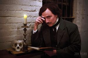 Edgar Allen Poe Re-enactor Campbell Harmonor C