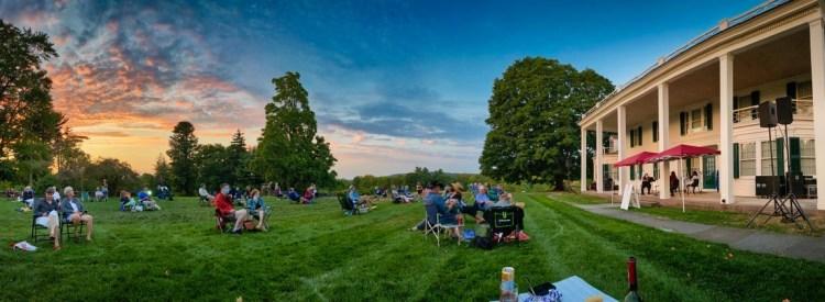 Sunken Garden Poetry Festival at Hill-Stead