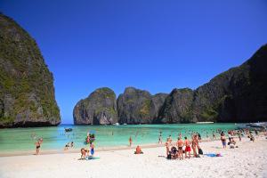 Playa Maya, Phi Phi, Tailandia.
