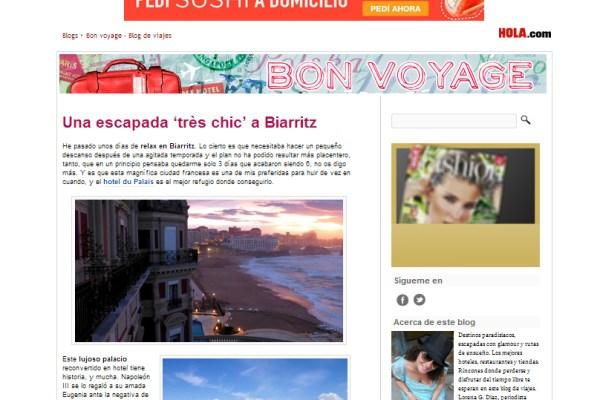 Blog Bon Voyage