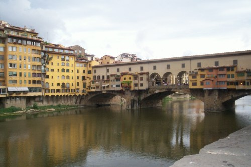 Ponte Vecchio de Florencia, Italia