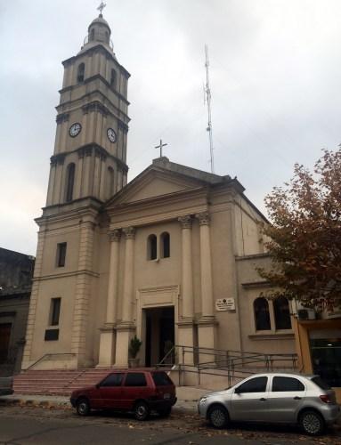 Catedral de Fray Bentos.