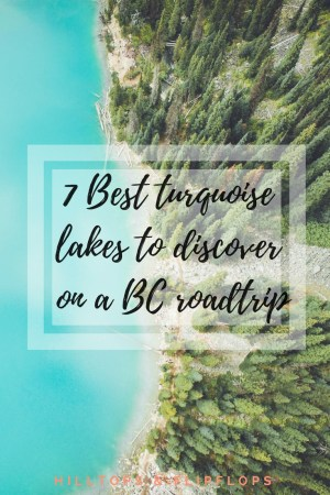 best lakes in BC