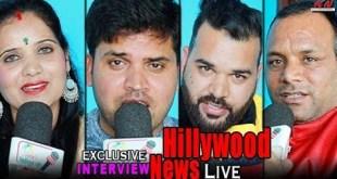 Sahab Singh Ramola & Akanksha Ramola, Arjun tanwar Full Interview Live   Hillywood News Show