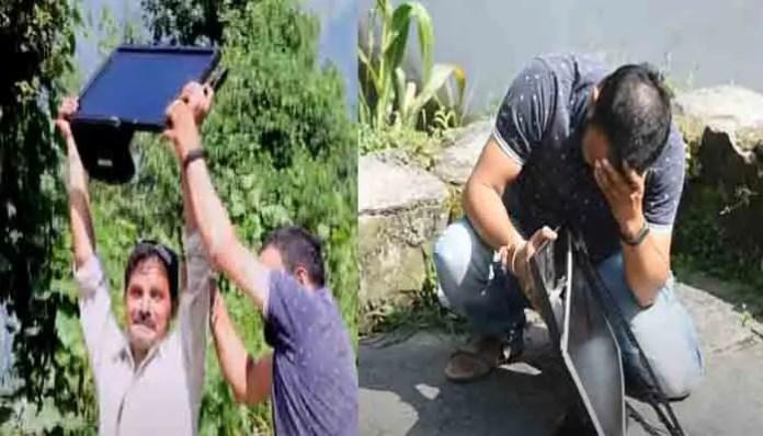 उत्तराखंडी लघु फिल्म मंगतू लाटू यूट्यूब पर रिलीज, नवीन सेमवाल ने लाटू किरदार की बखूबी निभाई भूमिका।