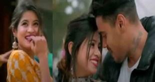 काजल कु टिक्कू वीडियो गीत रिलीज होते ही वायरल,आकाश, नताशा की जोड़ी स्क्रीन पर हिट।