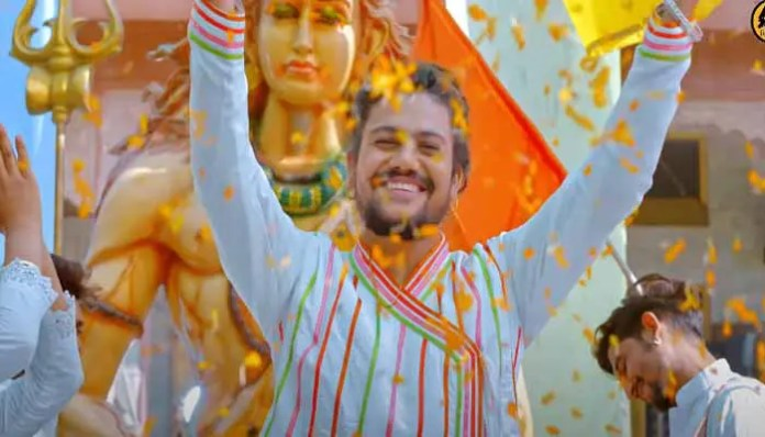 the-release-of-laagi-lagan-shankara-by-hansraj-raghuvanshi-a-shiva-devotee-colored-in-devotion-to-bhole-baba