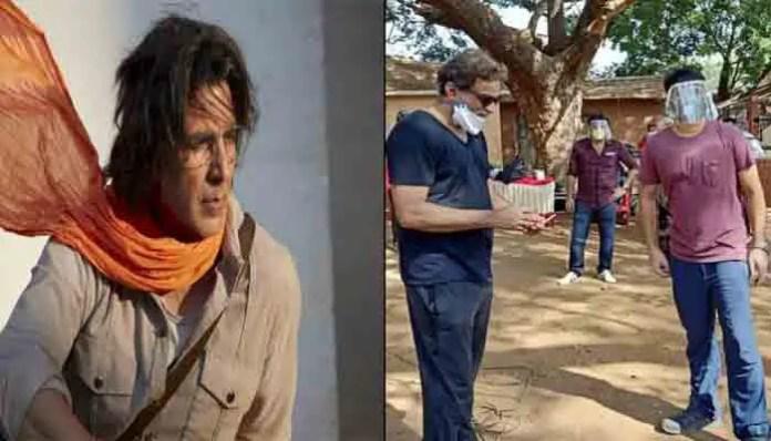 फिल्म रामसेतु की बीच में रोकी शूटिंग, अक्षय कुमार समेत 45 जूनियर आर्टिस्ट हुए कोरोना पॉजिटिव।