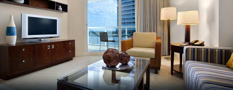 Hotel En Florida Hilton Fort Lauderdale Beach Resort