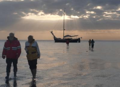 Vierter Frauentörn auf dem Wattenmeer