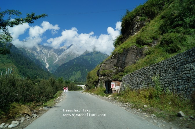 Road to Rohtang Pass Manali