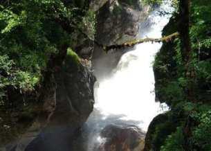 Rudra Nag Waterfalls - Enroute Kheerganga