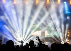 music concerts during new year's in goa