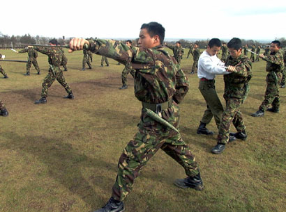 british gurkha training