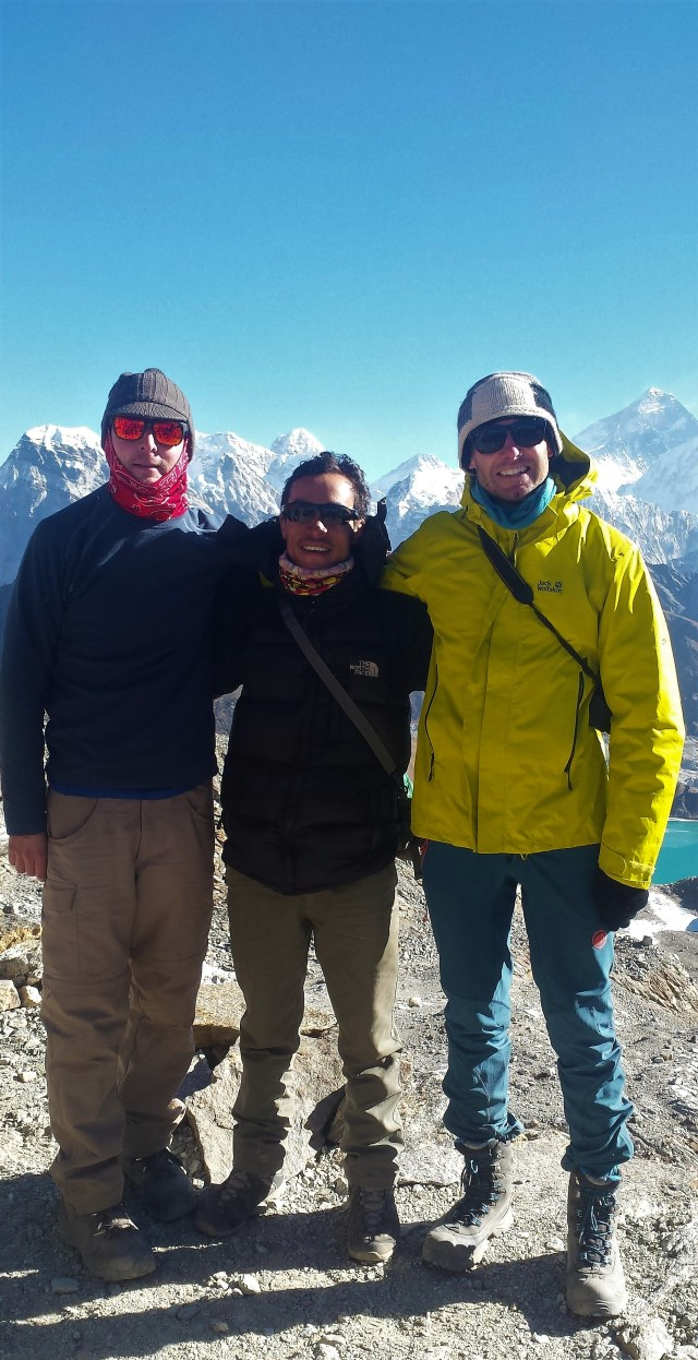 Jonathan, Bishnu and Nick. Always the funnest crew in the guesthouse!