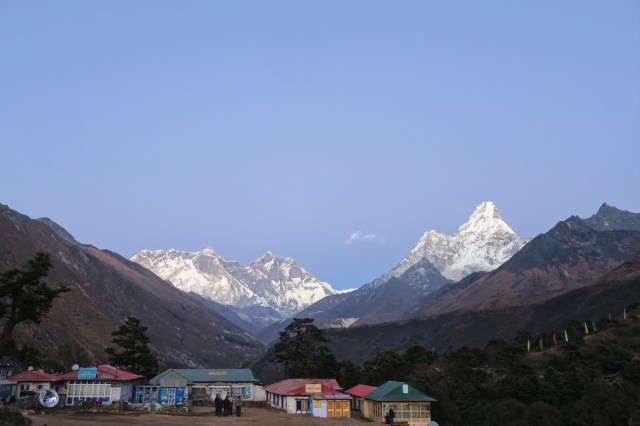 Ama Dablam might be the best looking mountain in the Himalaya.