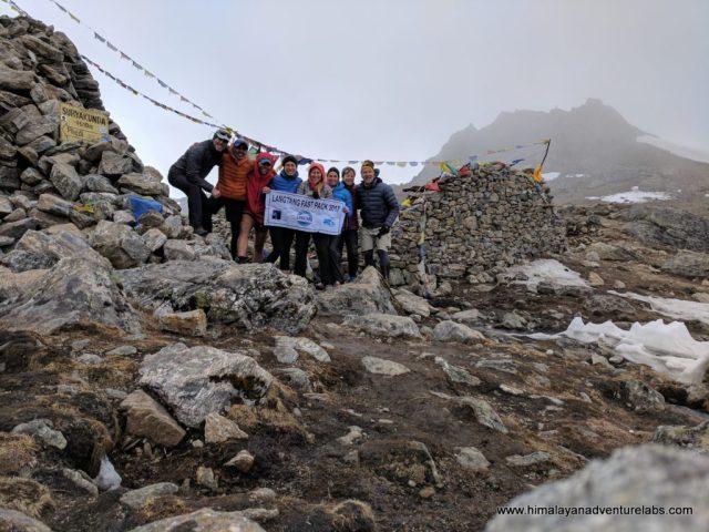 Laurebina Pass! 4,610 m (15,120 ft)