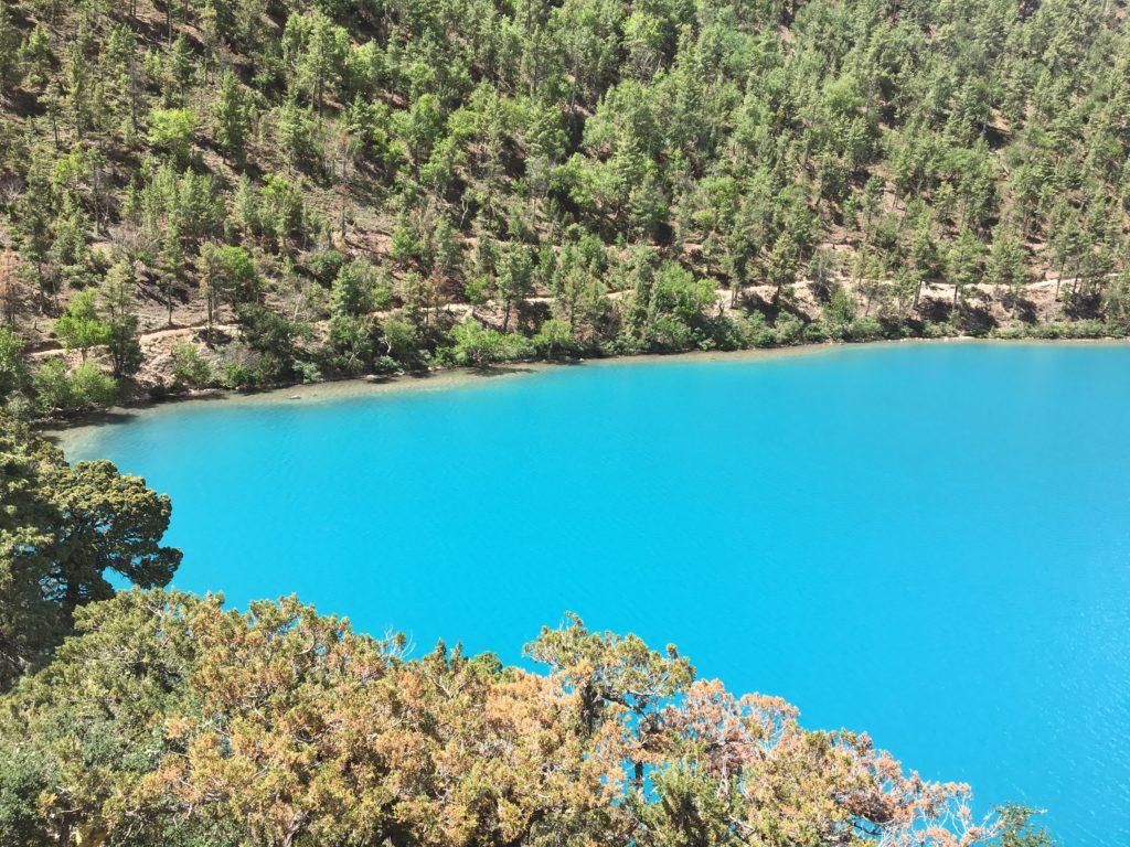Turquoise Shey Phoksundo lake.