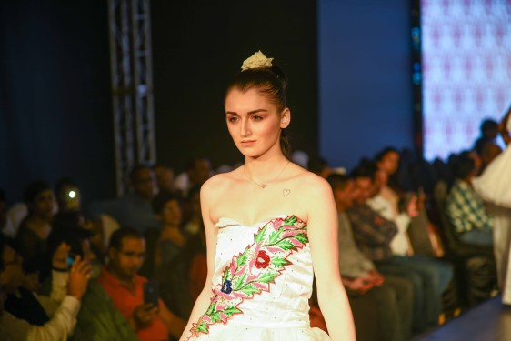 Designers Display Season S Latest Collection At India Cult Lifestyle Fashion Week Himalayan Buzz