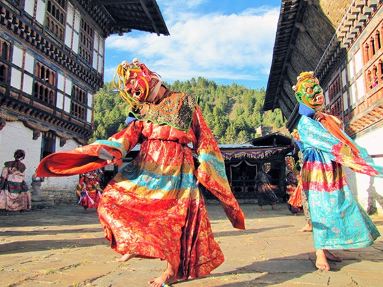 Bumthang Valley - Festival