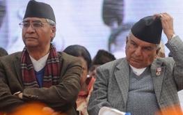 Ram chandra poudel Sher Bahadur Deuba