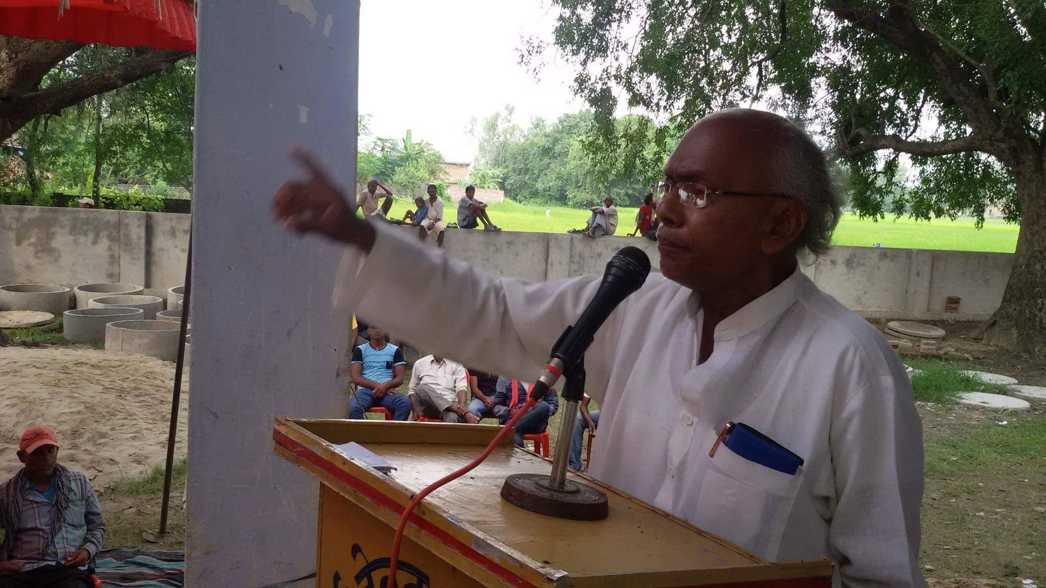 विजय गुप्ता, मोर्चा संयोजक,, बाँके