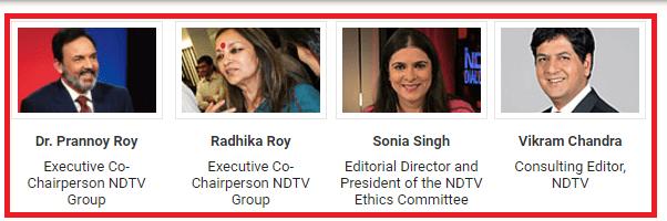 NDTV Corporate Governance