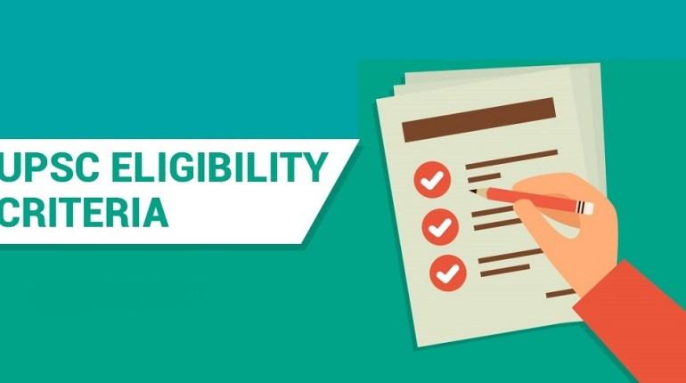 Eligibility for UPSC