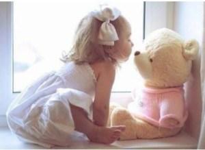 クマと女の子