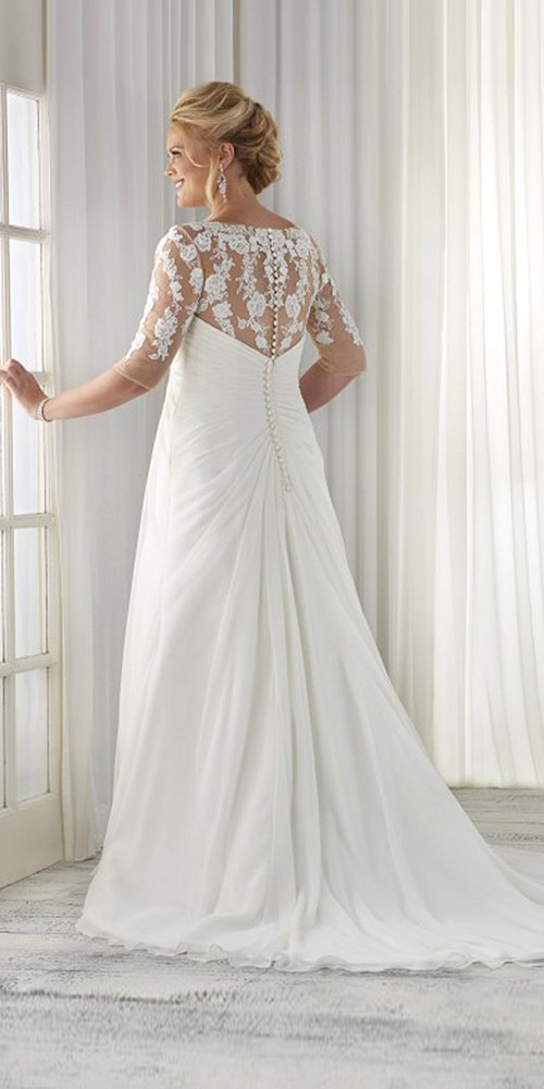 100 Gorgeous Plus Size Wedding Dresses Hi Miss Puff