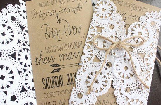 Budget Wedding | DIY Invitations