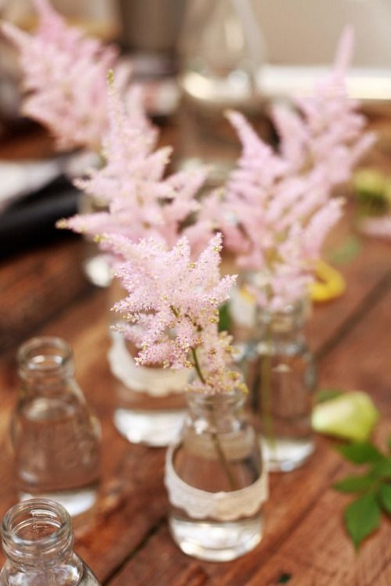 50 Ideas To Incorporate Astilbes In Your Wedding Hi
