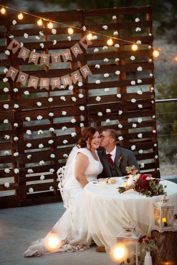 Fall Lanterns Wedding