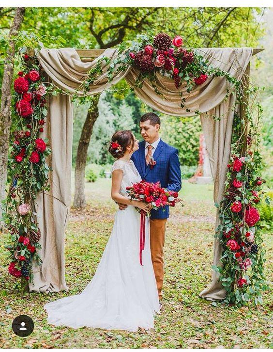 20 Diy Fl Wedding Arch Decoration Ideas