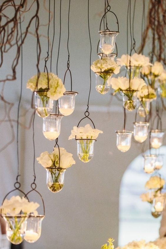 30 Ways To Use Hanging Glass Globes At Your Wedding Hi