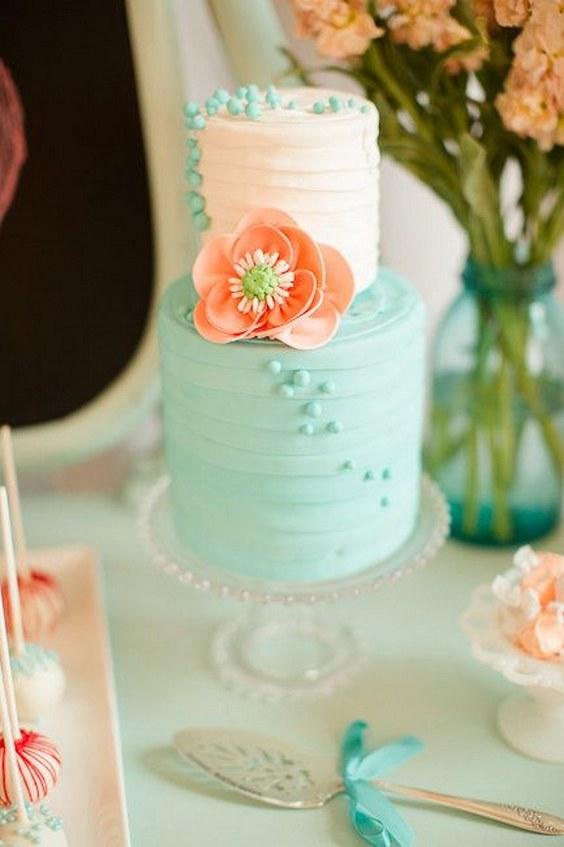 45 Peach Amp Mint Spring Summer Wedding Color Ideas Hi