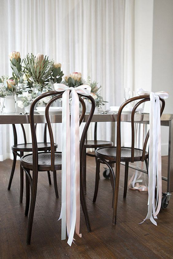 55 Gorgeous Ways To Decorate Your Wedding Chairs Hi
