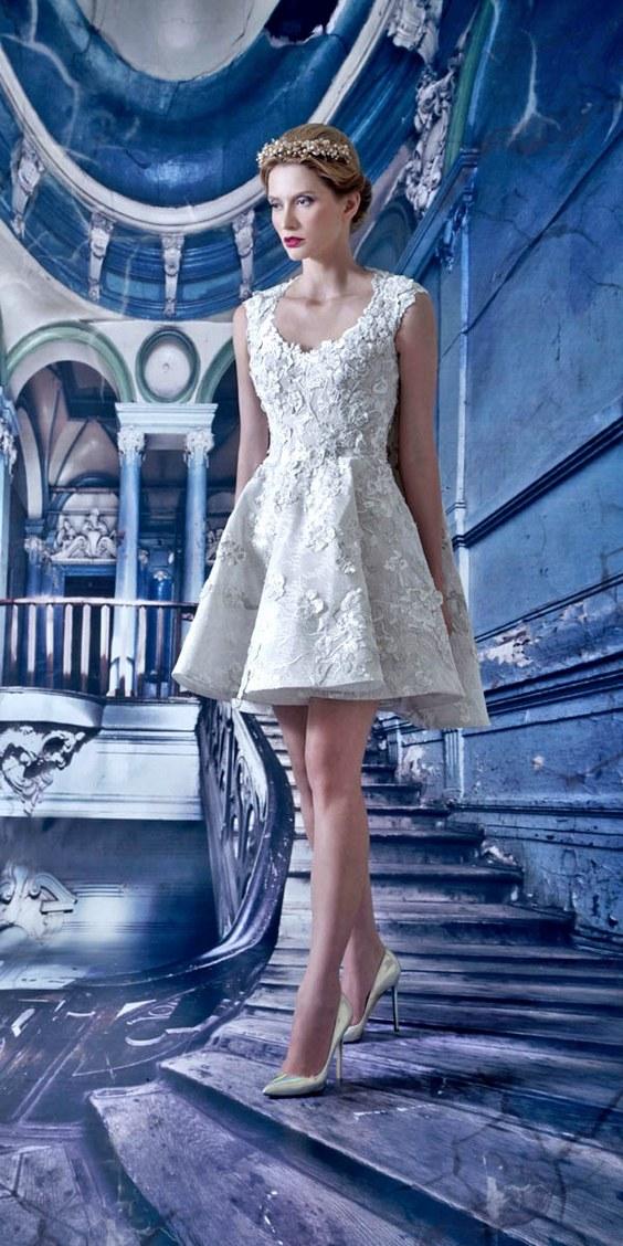 40 Prettiest Rehearsal Dinner Short Wedding Dresses Hi