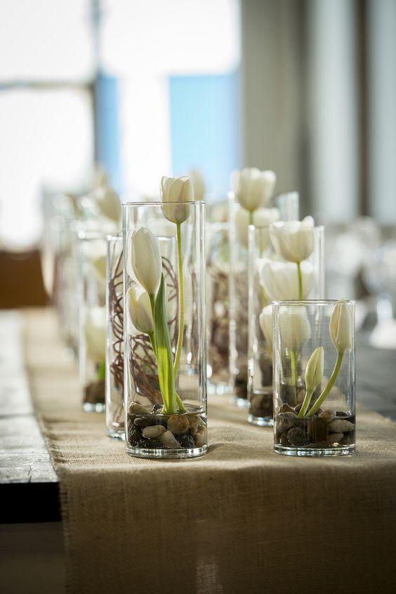 50 White Tulip Wedding Ideas for Spring Weddings - Hi Miss ...