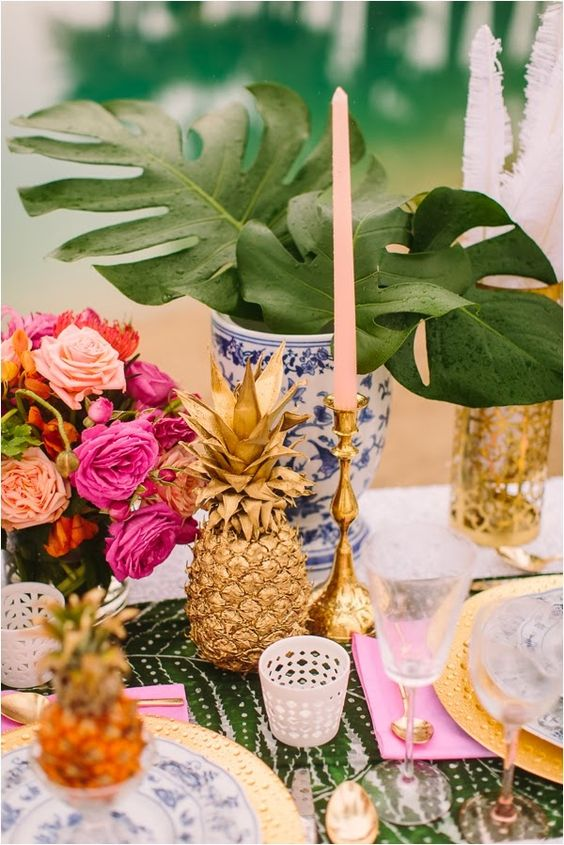 50 Green Tropical Leaves Wedding Ideas Page 4 Hi Miss Puff