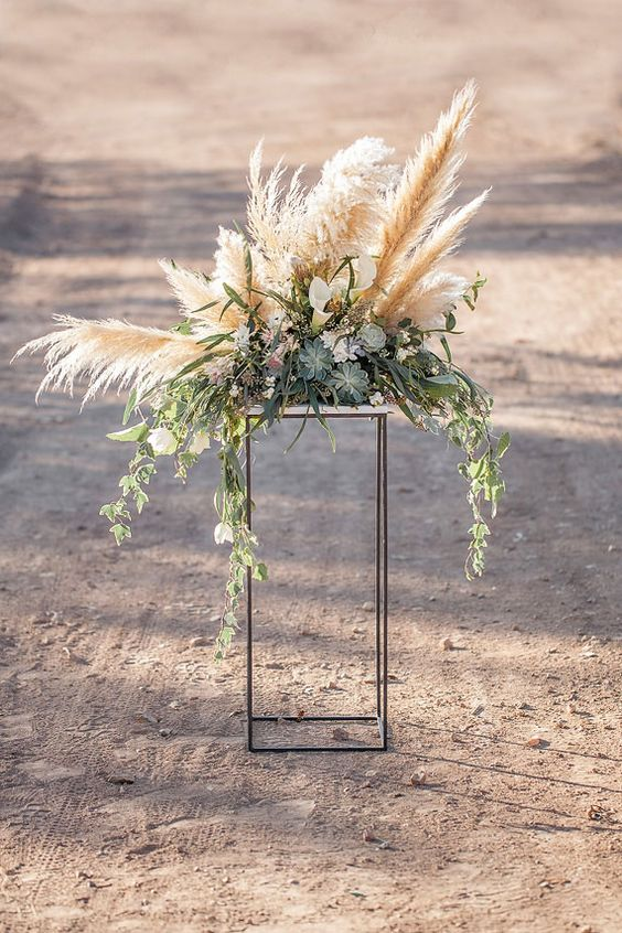 Wedding Trend 30 Boho Pampas Grass Wedding Ideas Page 5 Hi Miss Puff