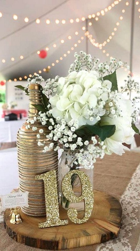 75 Ways To Display Your Wedding Table Numbers Hi Miss Puff