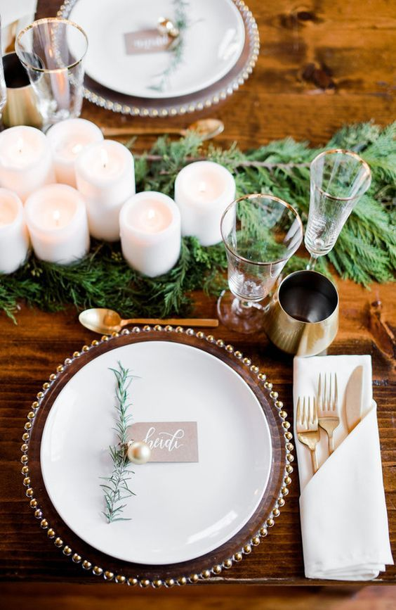 40 Winter Wedding Place Setting Decor Ideas Hi Miss