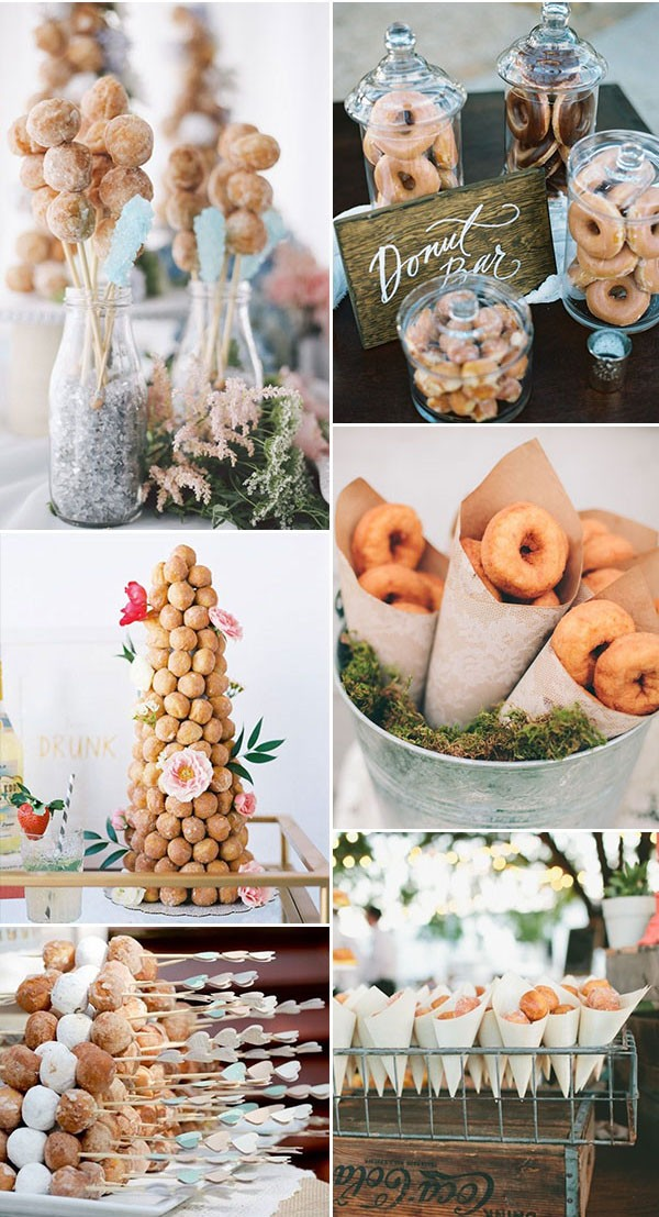Wedding Trend 2019 Donuts Bar Donuts Bar wedding ideas
